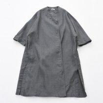 Fog linen work(フォグリネンワーク)リネンアンナコート アシエ(グレー)