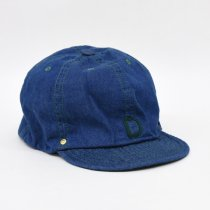 DECHO(デコー)BALL CAP -DENIM- ブルー