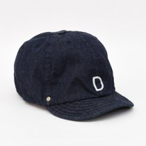 DECHO(デコー)BALL CAP -DENIM- インディゴ