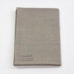 Fog linen work(フォグリネンワーク)リネンテーブルクロスS ナチュラル(130×130cm)