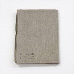 Fog linen work(フォグリネンワーク)リネンテーブルクロスL ナチュラル(130×180cm)
