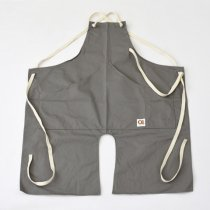 Suolo(スオーロ)onG apron グレー(チノクロス)