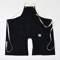 Suolo(スオーロ)onG apron ブラック(チノクロス)