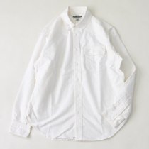 SASSAFRAS(ササフラス)Green Thumb Shirt ホワイト(オックスフォード)