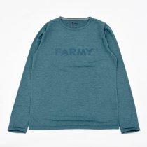 HARVESTA!HABICOL(ハーベスタ!ハビコル)スコーロン防虫速乾ロングスリーブTシャツ FARMY ナイトブルー