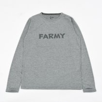 HARVESTA!HABICOL(ハーベスタ!ハビコル)スコーロン防虫速乾ロングスリーブTシャツ FARMY グレー