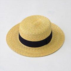 Napron(ナプロン)STRAW BRADE KANKAN ブラック(麦わら帽子)