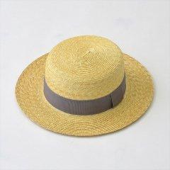 Napron(ナプロン)STRAW BRADE KANKAN グレー(麦わら帽子)