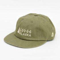 Tacoma Fuji Records(タコマフジレコード)Lodge ALASKA CAP カーキ Matt Leinesデザイン