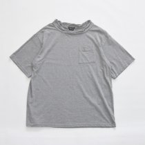 Napron(ナプロン)DOUBLE NECK T-SHIRT グレー