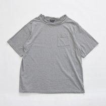 Napron(ナプロン)DOUBLE NECK T-SHIRT グレー