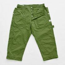 SASSAFRAS(ササフラス)Fall Leaf Gardener Pants 2/3 オリーブ(ナイロンオックス)