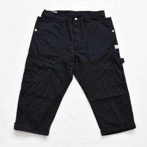 SASSAFRAS(ササフラス)Fall Leaf Gardener Pants 2/3 ネイビー(ナイロンオックス)