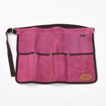 【ワケあり蚤の市30%OFF】イギリスBradley's(ブラッドリーズ)ツールロールエプロン ピンク