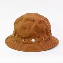 Decho(デコー)SHALLOW KOME HAT ブラウン(塩縮加工ロクヨンクロス)