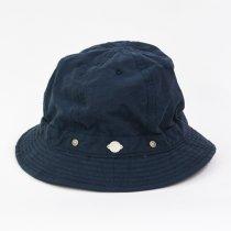 Decho(デコー)SHALLOW KOME HAT ネイビー(塩縮加工ロクヨンクロス)