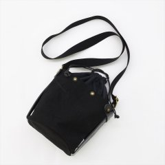 Suolo(スオーロ)SAND mini ブラック(6号パラフィン帆布バイオウォッシュ)