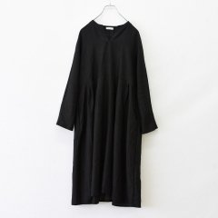 Fog linen work(フォグリネンワーク)リアナ ワンピース ブラック(リネン)