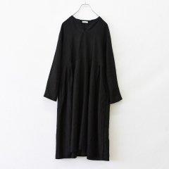 【ワケあり蚤の市20%OFF】Fog linen work(フォグリネンワーク)リアナ ワンピース ブラック(リネン)