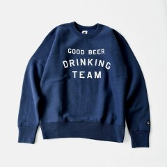 Tacoma Fuji Records(タコマフジレコード)GOOD BEER DRINKING TEAM SWEAT SWEAT ネイビー