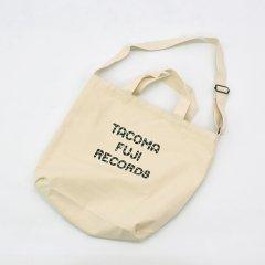 Tacoma Fuji Records(タコマフジレコード)TACOMA FUJI ZEBRA LOGO TOTE ナチュラル(ジェリー鵜飼デザイン)