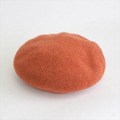 Decho(デコー)BASQUE BERET オレンジ(ウール)