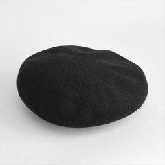 Decho(デコー)BASQUE BERET ブラック(ウール)