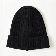 Decho(デコー)WOOL WATCH CAP ブラック(ウール)