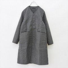 Napron(ナプロン)QUILTING WORK COAT チャコールグレー(中綿キルト)