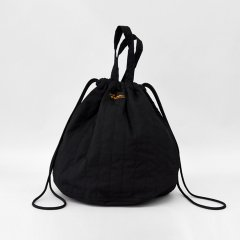 Napron(ナプロン)QUILTING PATIENTS BAG ブラック(中綿キルト)