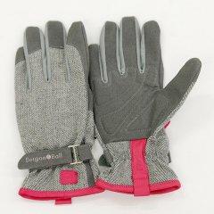 【ワケあり蚤の市30%OFF】イギリスBurgon & Ball(バーゴン&ボール)グローブ Love The Glove Gray Tweed サイズS/M