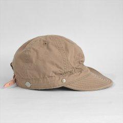 Decho(デコー)SHALLOW KOME CAP ベージュ(高密度ポプリン)