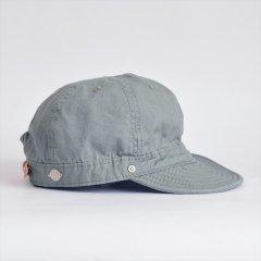 Decho(デコー)SHALLOW KOME CAP ミント(高密度ポプリン)