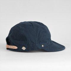 Decho(デコー)SHALLOW KOME CAP ネイビー(高密度ポプリン)