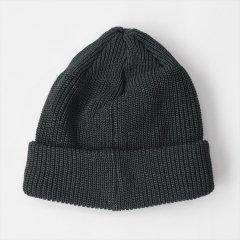 Decho(デコー)LINEN KNIT CAP チャコール