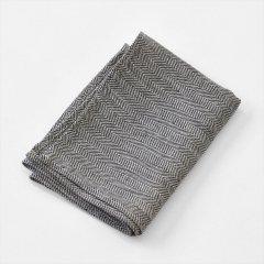 Fog linen work(フォグリネンワーク)厚地リネンキッチンクロス ホワイト/レッドライン