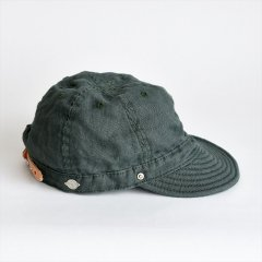 Decho(デコー)SHALLOW KOME CAP グリーン(リネン)