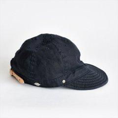 Decho(デコー)SHALLOW KOME CAP ネイビー(リネン)