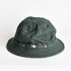 Decho(デコー)SHALLOW KOME HAT グリーン(リネン)