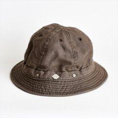 Decho(デコー)SHALLOW KOME HAT ブラウン(リネン)