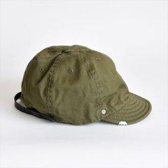 Decho(デコー)BALL CAP CHINO オリーブ(チノ)