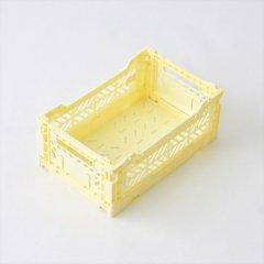Ay-kasa(エーワイカーサ)マルチウェイボックス MINI(折りたたみコンテナ)バニラ