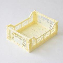 Ay-kasa(エーワイカーサ)マルチウェイボックス MIDI(折りたたみコンテナ)バニラ