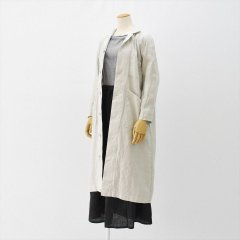 Fog linen work(フォグリネンワーク)マーラワークコート(リネン)アルバートル