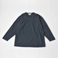 Sassafras(ササフラス)CHOP CORNER POCKET T(長袖Tシャツ)ネイビー