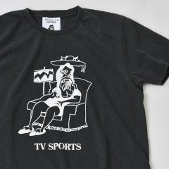 TACOMA FUJI RECORDS (タコマフジレコード)TV SPORTS designed by Tomoo Gokita ブラック