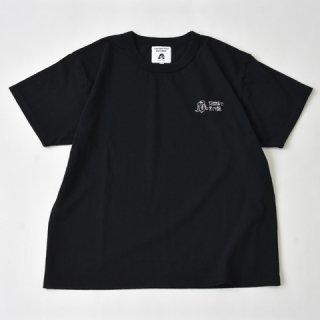 TACOMA FUJI RECORDS (タコマフジレコード)蛸間富士黒円盤 designed by Ken Kagami ブラック