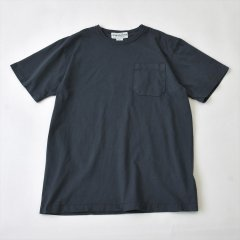 Sassafras(ササフラス)CHOP CORNER POCKET T(半袖Tシャツ)チャコール