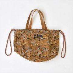 Napron(ナプロン)PATIENTS BAG mini  - William Morris(ウィリアムモリス)ブラウン