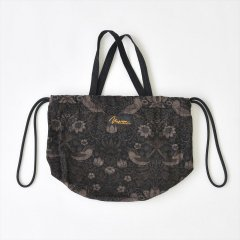 Napron(ナプロン)PATIENTS BAG mini  - William Morris(ウィリアムモリス)ブラック
